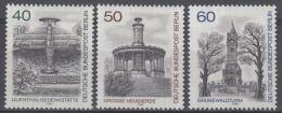 Berlijn - Berlin-Ansichten (III)- MNH/postfris - Michel 634-636 - [5] Berlijn