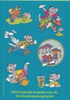 Nederland - 65e Kinderpostzegelactie Voor Het KInd - Stickervel Tom En Jerry - Sellos