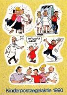 Nederland - Kinderpostzegelaktie Voor Het KInd 1990 - Stickervel Suske En Wiske - Sellos