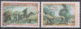 Bosnia Hercegovina - Bosnie 2000 Yvert 329-30, Art, Paintings - MNH - Bosnien-Herzegowina