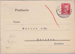 "DR 1927-09-06 PLAUEN Perfin Beleg ""GS"" Gebrüder Simon - Briefe U. Dokumente"