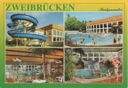 AK Zweibrücken Badeparadies Freizeitbad Schwimmbad Bad Bei Homburg Pirmasens Ixheim Rimschweiler Blieskastel - Zweibruecken