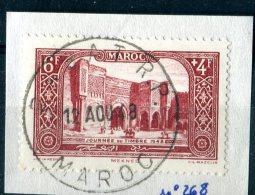"""MAROC  1948  OBLITER.  -  """" JOURNEE DU TIMBRE """"  -  1  VAL. - Maroc (1891-1956)"""