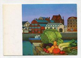 PAINTING - AK 216901 Kathia Berger - Sommer Am Fischmarkt - Peintures & Tableaux