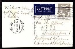 1930. Air Mail. 50 øre Grey KØBENHAVN 26.VI.30 STOCKHOLM 26.6.30. (Michel: 180) - JF103865 - Danemark