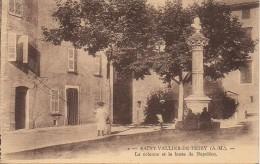 06 SAINT-VALLIER-DE-THIEY  La Colonne Et Le Buste De Napoléon - France