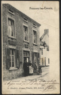 FRASNES-LEZ-COUVIN Bureau de poste. Utilis�e obl. relais 1904. Postkantoor Service postal Postes