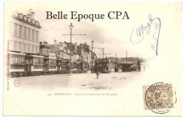 33 - BORDEAUX - Station De TRAMWAYS Sur Les Quais +++++ La Réclame, Bordeaux, #44 ++++ Vers Essonnes, 1902 ++++ - Bordeaux