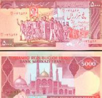 Iran #139a, 5.000 Rials, ND (1983-), UNC / NEUF - Iran