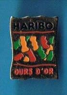 PIN´S //  . BONBON HARIBO OURS D´OR - Food