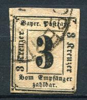 27484) BAYERN Porto # 1 Gestempelt Aus 1862, 400.- € - Bavaria