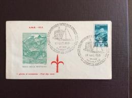 """TRIESTE  AMG FTT - ANNULLO SPECIALE """"REGATE CINQUANTENARIO YAXHT CLUB ADRIATICO 1903 - 1953""""XXI SETTIMANA ADRIATICA  - - 7. Trieste"""