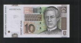 CROATIA 10 KUNA 7.03 2001 - Croatia