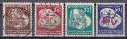 X_ DDR -  Mi.Nr. 289 - 292 -  Gestempelt Used - Gebraucht