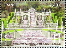 YT4663 FRANCE An.2012 Neuf  Jardins De France - Domaine National De Saint Cloud - Francia