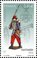 YT4670 FRANCE An.2012 Neuf  Soldats De Plomb Fantassin 1914 - Francia