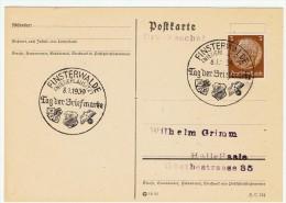 """Allemagne /  """" Journée Du Timbre """"  1939 / Finsterwalde - Allemagne"""