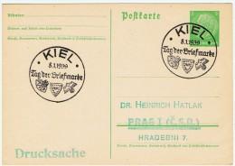 """Allemagne /  """" Journée Du Timbre """"  1939 / Kiel - Allemagne"""
