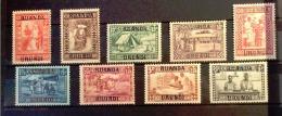 Ruanda Urundi - COB  81/89 - SCOTT B3/11 - Goutte De Lait - MNH - 1924-44: Mint/hinged