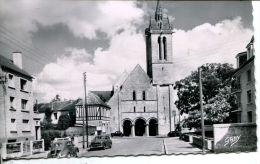 N°2567A -cpsm Caen -église Saint Nicolas- - Caen