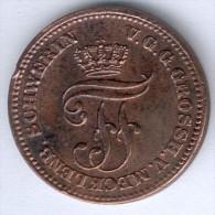 Mecklenburg-Schwerin,2 Pfennige 1872 B,  AKS 49, ss