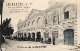 TONKIN  HAIPHONG   CHARRIERE Et  Cie - Cartes Postales