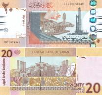 Sudan 20 Pound 2011 Pick NEW UNC - Soudan