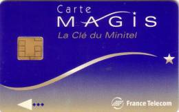 FRANCE TELECOM MAGIS CLE DU MINITEL SUPERBE - France