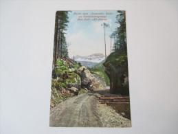 """AK 1910 Partie Beim """"sausenden Stein"""" Am Soolenleitungswege Bad Ischl - Alt Aussee. F.E. Brandt In Gmunden. No 943 - Bad Ischl"""