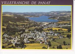 VILLEFRANCHE DE PANAT  (12-Aveyron), Vue Générale, Lac, Ed. Apa-Poux - France