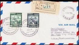 1948. PYNANDI REVOLUTION. AIR MAIL. FIRST DAY 11. SEPT. 1948.  (Michel: 646-647) - JF108846 - Briefmarken