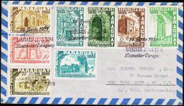 1955. RODRIGUEZ. AIR MAIL 8 EX. FIRST DAY 19 JUNIO 1955.  (Michel: 737-744) - JF108852 - Briefmarken