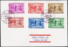 1961. 1811-1961. AIR MAIL 6 EX. FIRST DAY (Michel: 898-903) - JF108857 - Briefmarken