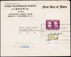 1947. CAR0 & CUERVO 3 PESOS. REC.  (Michel: 511) - JF108825 - Briefmarken