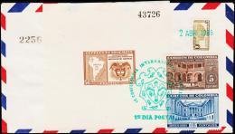 1948. IX CONFERENCIA INTERNACIONAL AMERICANA. 50 C. BLOCK. FIRST DAY 2. APR 1948.  (Michel: BLOCK 3) - JF108823 - Briefmarken