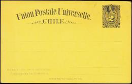 Union Postale Universelle Chile. 2 CENTAVO.  (Michel: ) - JF108889 - Briefmarken