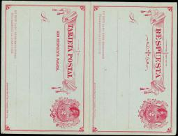 TARJETA POSTAL. 2 CENTAVO + 2 CENTAVO.  (Michel: ) - JF108886 - Briefmarken
