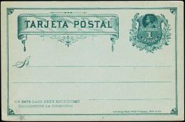 TARJETA POSTAL. 1 CENTAVO.  (Michel: ) - JF108880 - Briefmarken