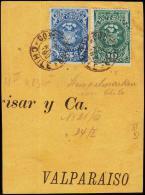 1892. 5 + 1+ C. CONFESION 8 APR 92.  (Michel: 3-4) - JF108878 - Briefmarken
