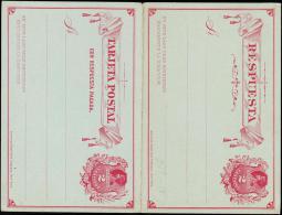 TARJETA POSTAL. 2 CENTAVO + 2 CENTAVO.  (Michel: ) - JF108887 - Briefmarken