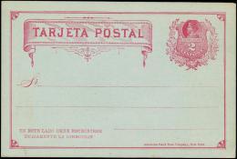 TARJETA POSTAL. 2 CENTAVO.  (Michel: ) - JF108883 - Briefmarken