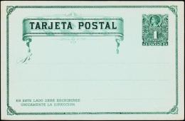 TARJETA POSTAL. 1 CENTAVO.  (Michel: ) - JF108885 - Briefmarken