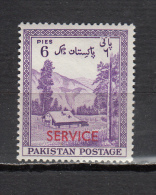 PAKISTAN *  YT N° SERVICE 36 - Pakistan