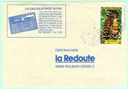 Devant De Lettre Commerciale - Cachet De Papeete RP - Polynésie Française