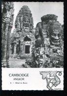 CPSM Neuve Cambodge ANGKOR Détail Du Bayon