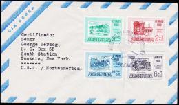 1960. EFIMAYO 1960. FDC 20. AUG. 1960.  (Michel: 737-740) - JF123012 - FDC