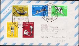 1959. SPORT. FDC 5. SEPT. 1959.  (Michel: 706-710) - JF123009 - FDC