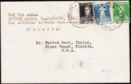 1929. POR VIA AEREA BUENOS AIRES, VALPARAISO, MAIMI. PAN AMERICAN AIRWAYS COPERATION. 1... (Michel: 296) - JF108966 - Luftpost
