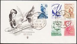 1960. FDC 6. FEB. 1960.  (Michel: 715-719) - JF123014 - FDC