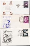 1950-1954. 3 FDC.  (Michel: ) - JF108998 - FDC
